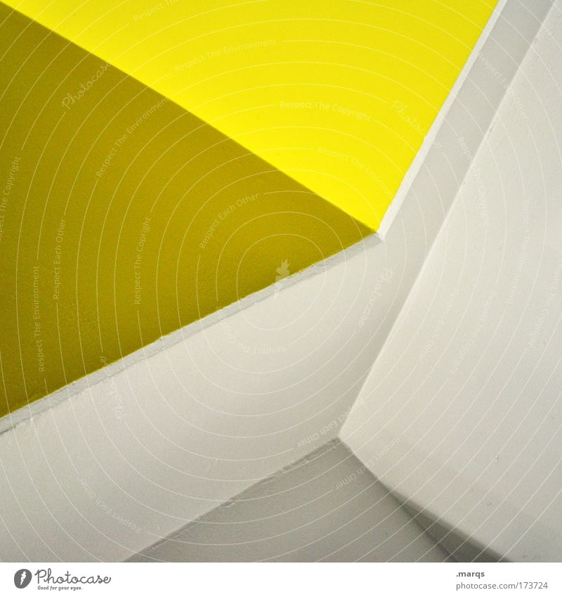 Yellow Pages Colour photo Interior shot Detail Experimental Abstract Pattern Shadow Contrast Elegant Style Design Manmade structures Architecture Line