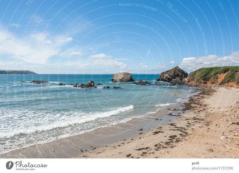 Nature Plant Summer Water Landscape Ocean Beach Coast Stone Sand Rock Bushes Adventure France Gravel Cliff