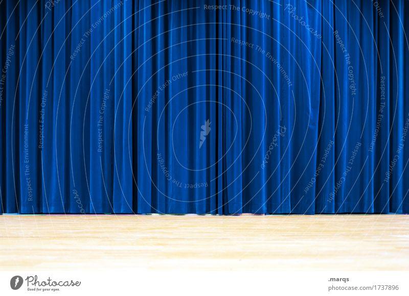 curtain Entertainment Stage Culture Event Cinema Blue Expectation Shows Velvet Folds Curiosity Lighting Concert Background picture Drape Colour photo