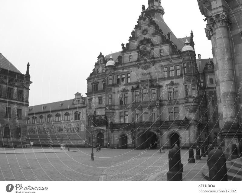 City Architecture Dresden Old town