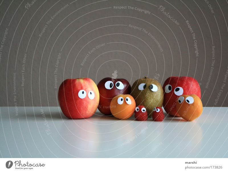 Eyes Nutrition Emotions Literature Berries Fear Healthy Funny Food Fruit Kitchen Face Intoxication Looking Apple Delicious