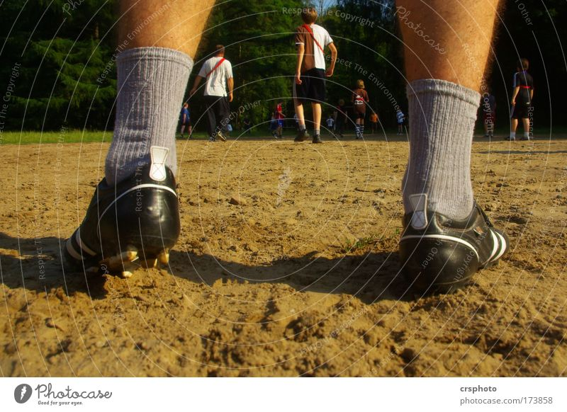 Human being Man Youth (Young adults) Summer Adults Sports Playing Boy (child) 18 - 30 years Sand Group Legs Feet Going Masculine Footwear