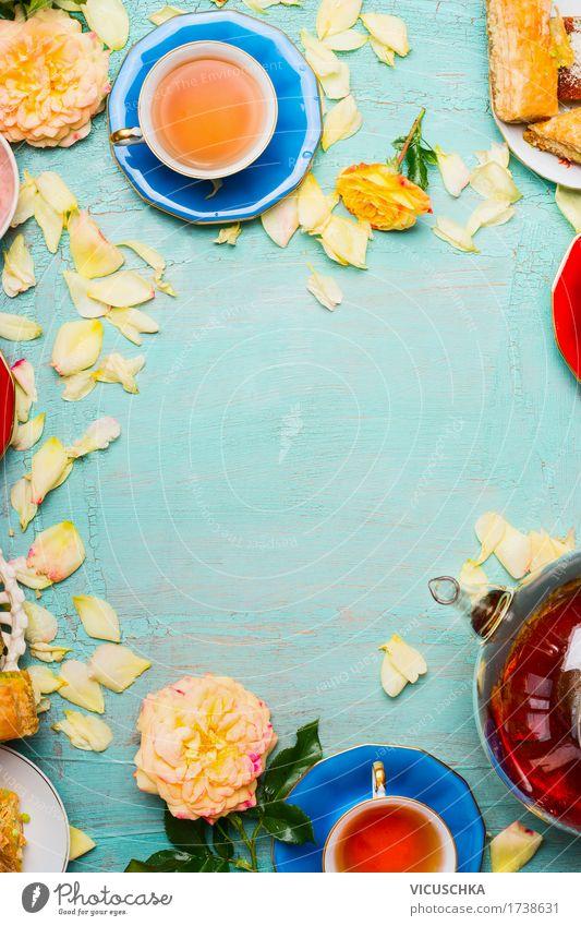 Plant Flower Leaf Blossom Lifestyle Style Food Design Living or residing Decoration Elegant Retro Table Beverage Rose Cake