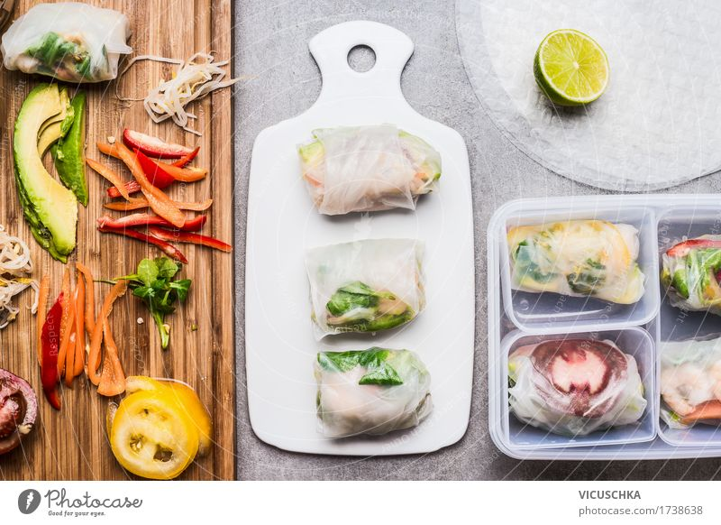 Summer Healthy Eating Food photograph Life Style Design Nutrition Table Cooking Kitchen Vegetable Organic produce Restaurant Crockery Vegetarian diet
