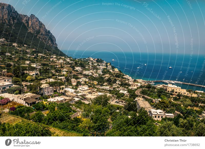 Italy see and die... the 300th Well-being Contentment Relaxation Calm Vacation & Travel Tourism Trip Adventure Freedom Sightseeing Summer vacation Sun Sky