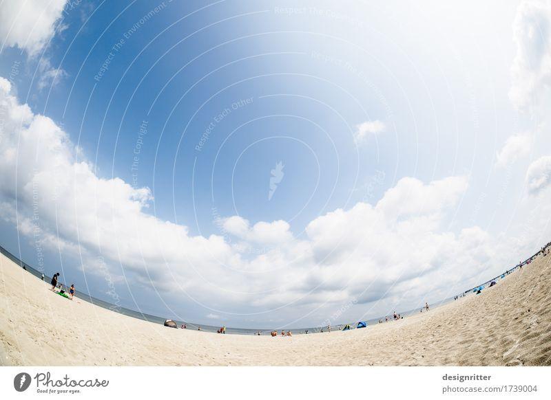 Sky Vacation & Travel Summer Water Sun Ocean Relaxation Calm Beach Love Coast Swimming & Bathing Sand Bright Dream Lie