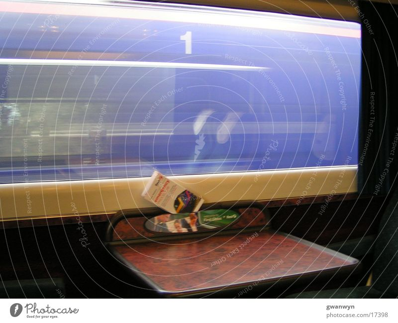 speed Railroad Mobility Transport speediness Vacation & Travel drive away on the way by train
