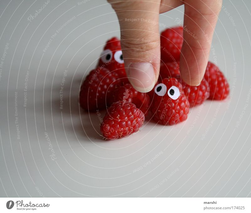 Hand Red Face Eyes Nutrition Emotions Fear Healthy Eating Food Fruit Fingers Fresh Threat Delicious Appetite