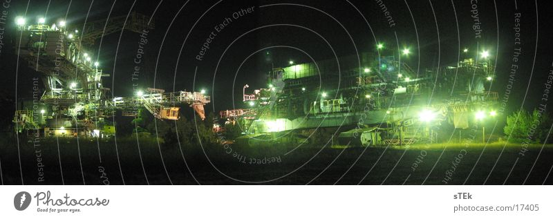 Lighting Large Technology Panorama (Format) Excavator Mining Electrical equipment