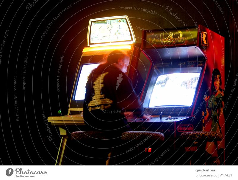 gaming machines Disco Bar Dark Photographic technology