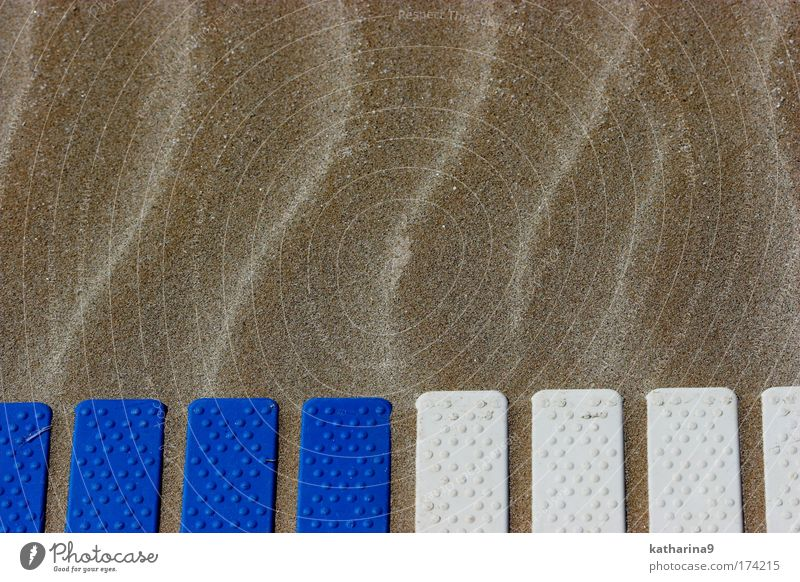 waves Colour photo Exterior shot Morning Day Downward Vacation & Travel Tourism Far-off places Summer vacation Beach Ocean Waves Sand Relaxation Blue White