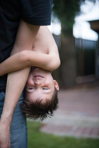 upside down Children's game Trip Adventure Summer Summer vacation Boy (child) Parents Adults Father Family & Relations Infancy Life 2 Human being 3 - 8 years