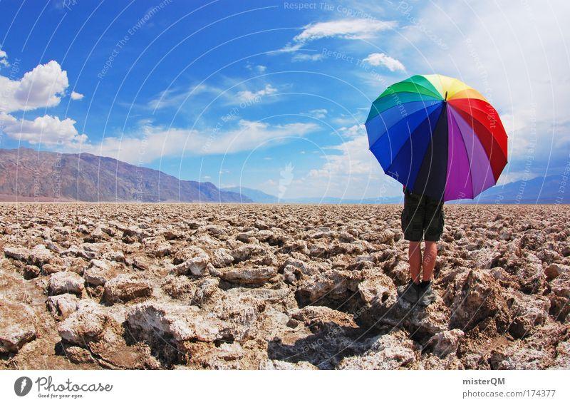 Beautiful Loneliness Joy Far-off places Environment Life Style Time Stone Perspective Creativity Idea Adventure Infinity USA Umbrella