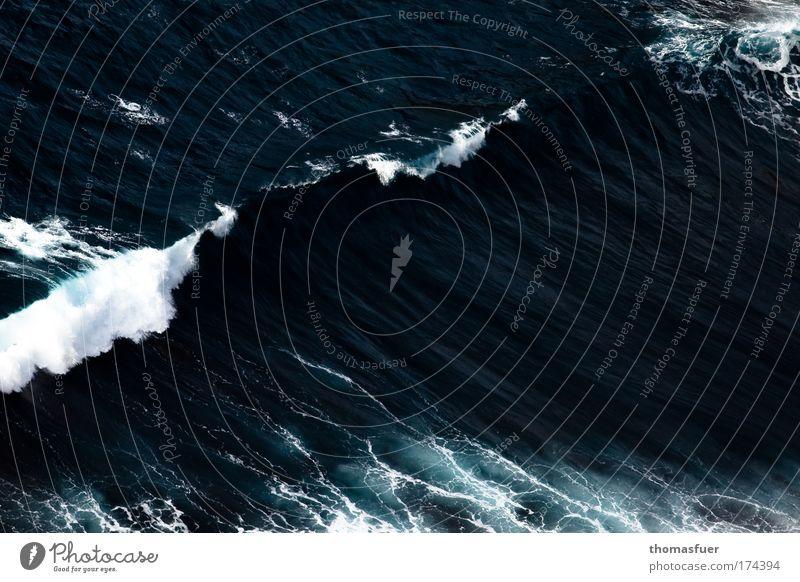 Nature Water Ocean Blue Far-off places Movement Power Waves Fear Wind Large Esthetic Dangerous Threat Fantastic Gale