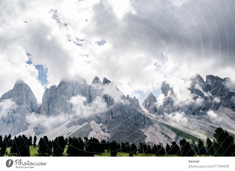 When the clouds clear Senses Vacation & Travel Tourism Trip Adventure Far-off places Freedom Environment Nature Landscape Elements Sky Clouds Summer Weather