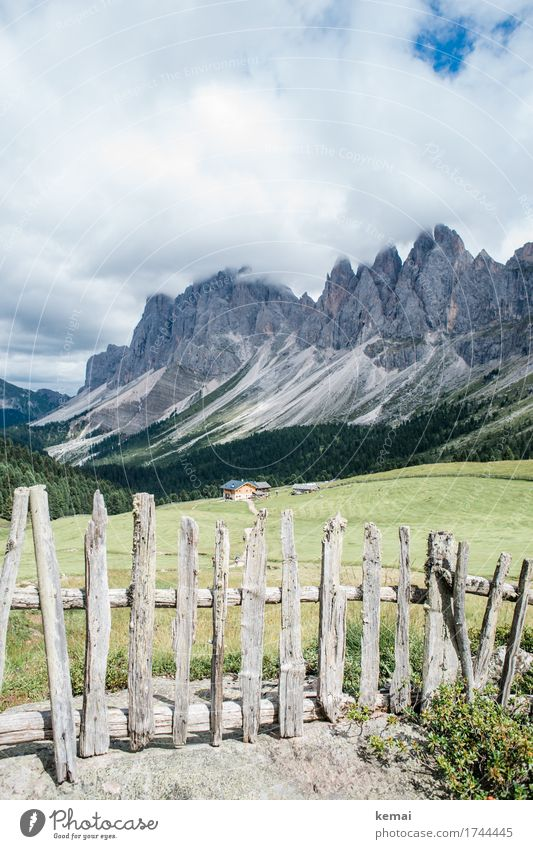 Postcard from the Dolomites Life Harmonious Well-being Contentment Senses Relaxation Calm Leisure and hobbies Vacation & Travel Trip Adventure Far-off places