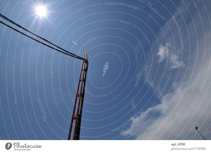 Nature Sky Sun Blue Summer Clouds Environment Esthetic Stand Illuminate Brave