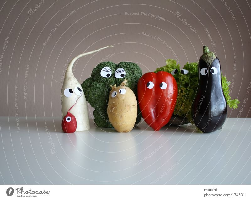 Joy Eyes Life Nutrition Emotions Gastronomy Food Human being Face Healthy Funny Flat (apartment) Vegetable Restaurant Cabbage Delicious