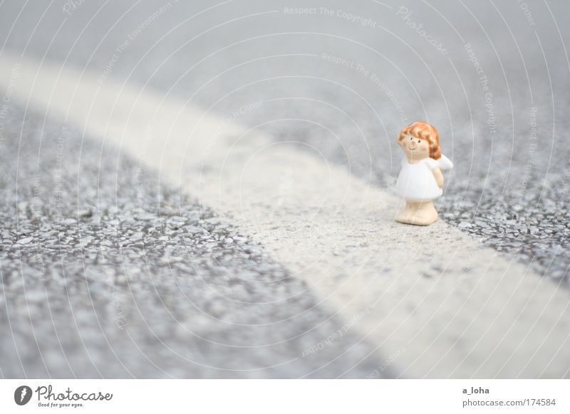 *** the star wanderer *** Dress Curl Concrete Sign Angel Line Stripe String Smiling Laughter Illuminate Stand Dream Wait Small Astute Cute Gray White Protection