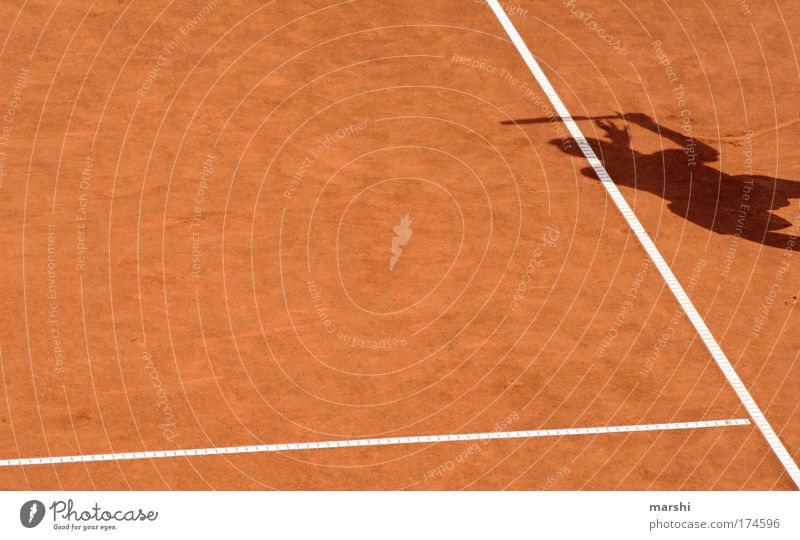 Human being Red Sports Playing Emotions Sand Line Leisure and hobbies Ball Playing field Passion Athletic Sporting event Sportsperson Tennis Enthusiasm