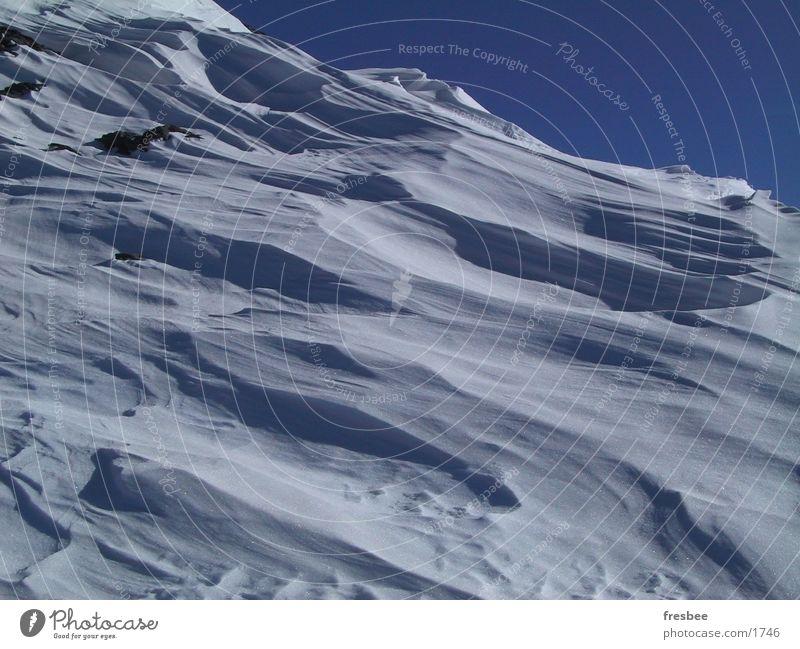 Sky Snow Alps