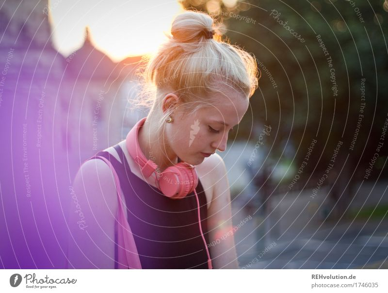Alexa Cityhipster. Style Design Human being Feminine Woman Adults Face 1 18 - 30 years Youth (Young adults) Culture Youth culture Music Media Fulda district