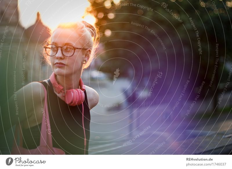 Alexa Cityhipster. Human being Feminine Young woman Youth (Young adults) Woman Adults Face 1 18 - 30 years Listen to music Media Small Town Downtown Dome Street