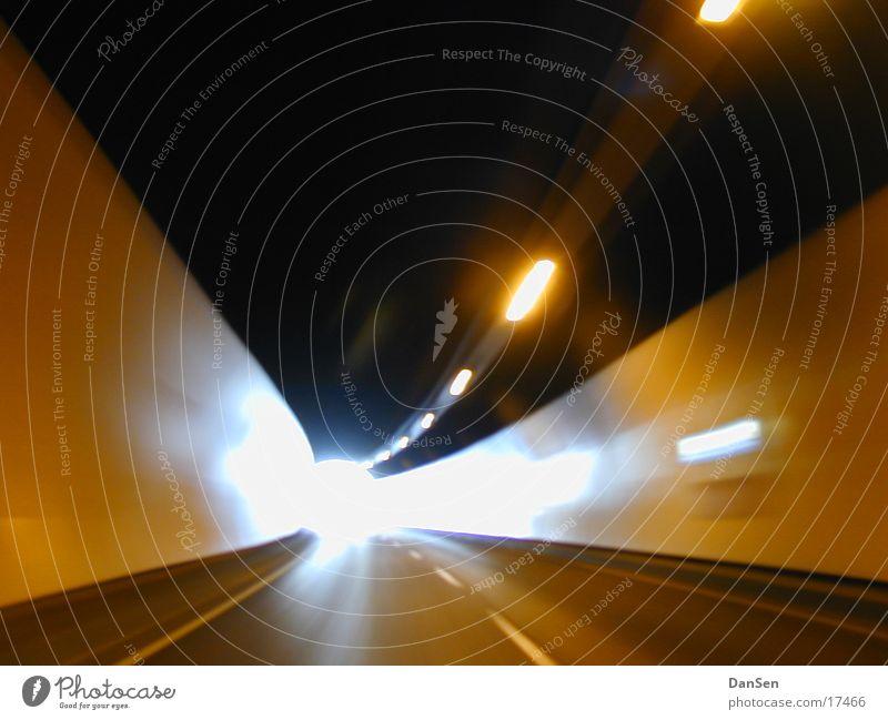 Vacation & Travel Car Transport Highway Tunnel