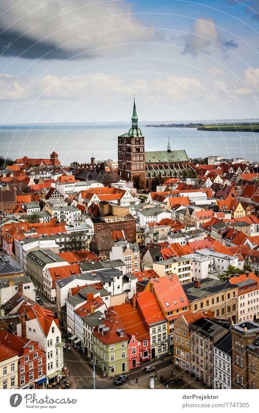 View of the Hanseatic city of Stralsund Vacation & Travel Tourism Trip Adventure Far-off places Freedom Sightseeing City trip Port City Downtown
