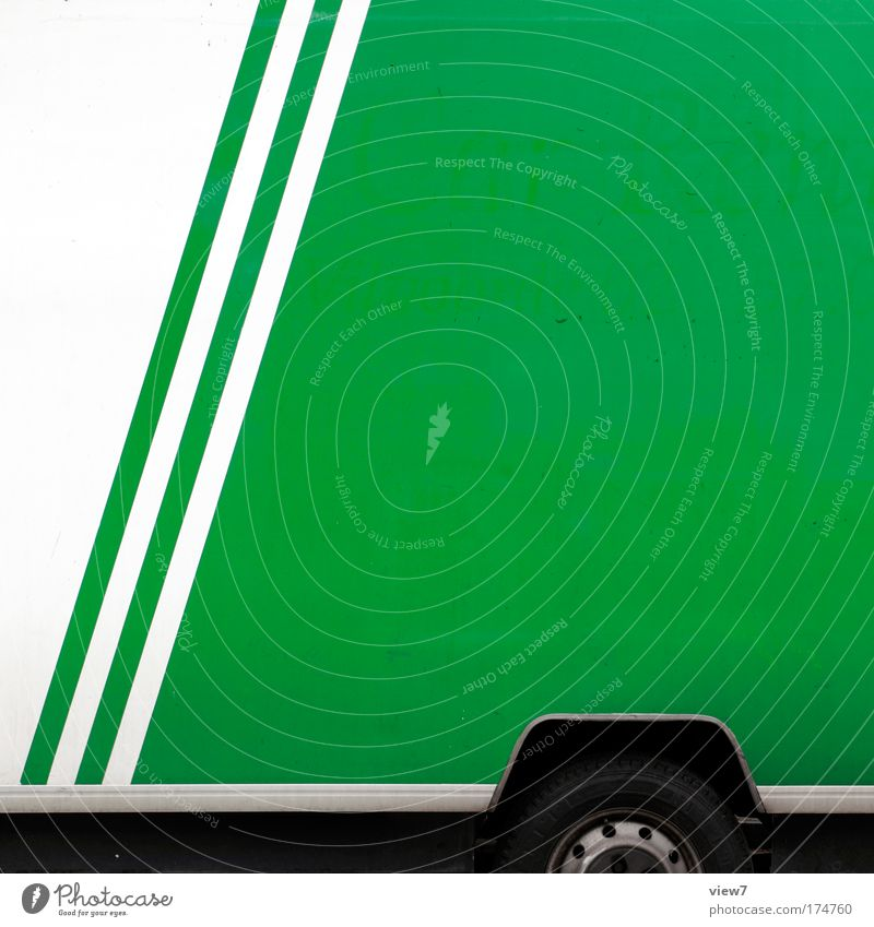 Beautiful White Green Work and employment Metal Transport Crazy Logistics Authentic Simple Stripe Uniqueness Truck String Wheel Plastic