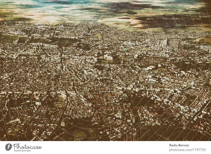 Aerial Photo Of Bucharest City In Romania Architecture Environment Landscape Sky Summer Europe Small Town Capital city Downtown Outskirts Skyline