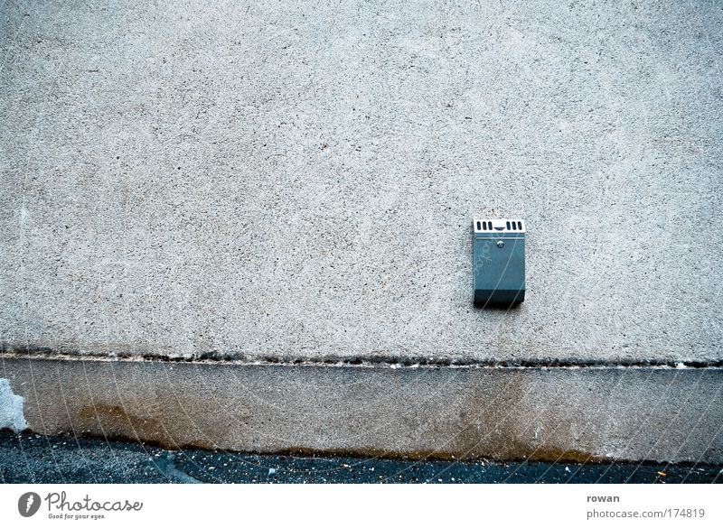 Dark Cold Wall (building) Wall (barrier) Wait Dirty Empty Gloomy Smoking Trashy Boredom Ashtray Cigarette break
