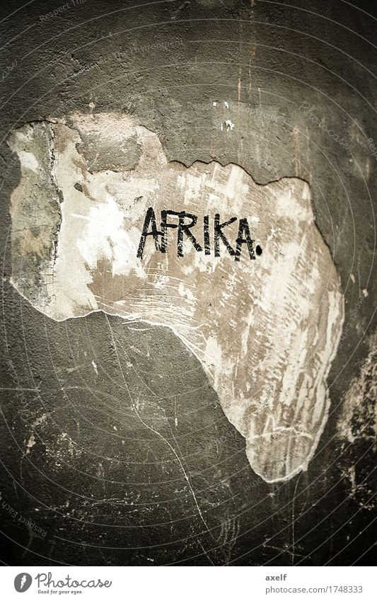 Africa Vacation & Travel Tourism Adventure Far-off places Freedom Expedition Map Earth Wall (barrier) Wall (building) Facade Sign Characters Authentic