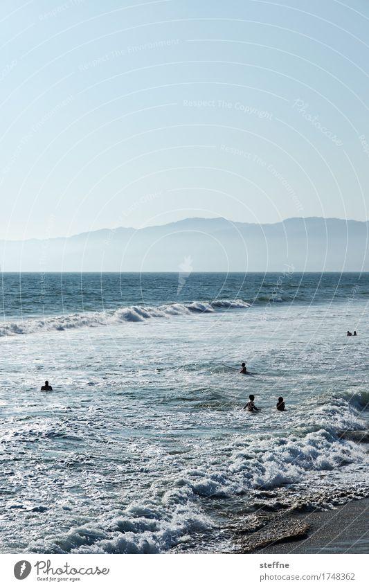 NATURE II Mountain Coast Ocean Swimming & Bathing venice beach Los Angeles Pacific Ocean Pacific beach Waves Colour photo Exterior shot