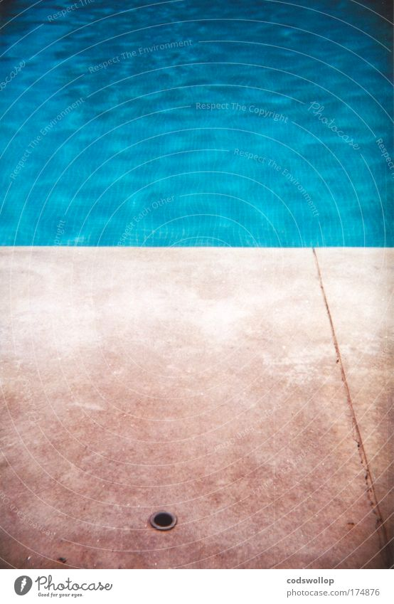 aquatic ape hypothesis Colour photo Exterior shot Holga Abstract Deserted Copy Space top Copy Space bottom Copy Space middle Lifestyle Summer vacation