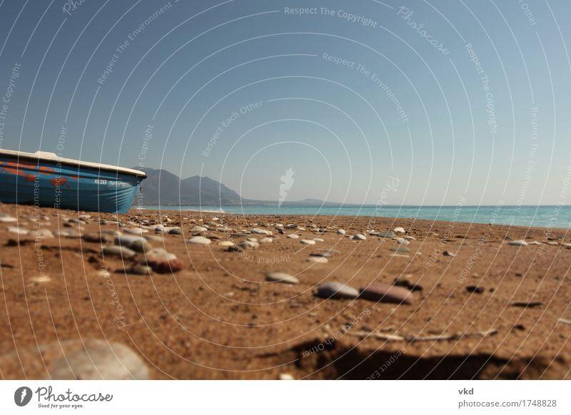 Vacation & Travel Summer Water Ocean Landscape Calm Beach Environment Coast Sand Horizon