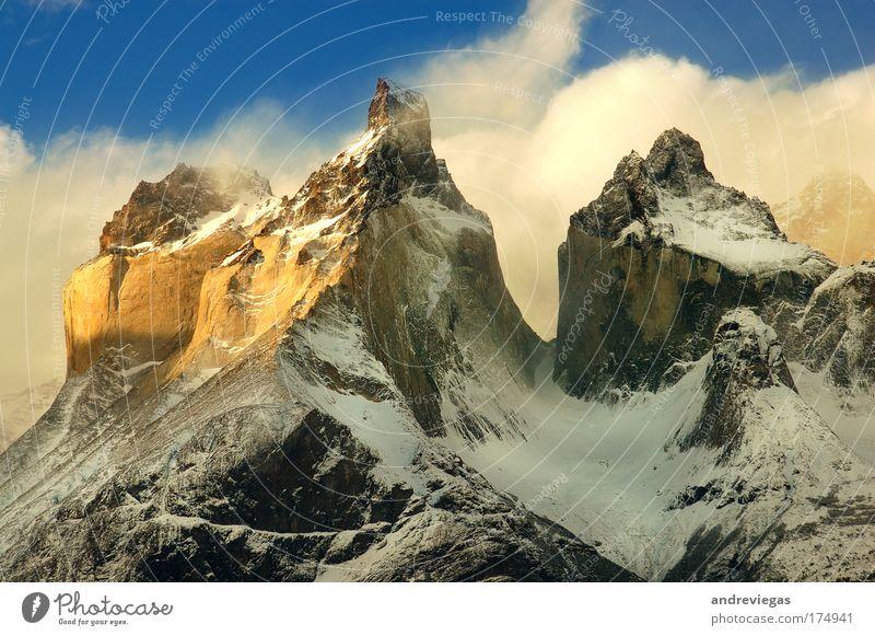 Torres del Paine Nature Joy Mountain Landscape Environment Earth Climate Elements Enthusiasm