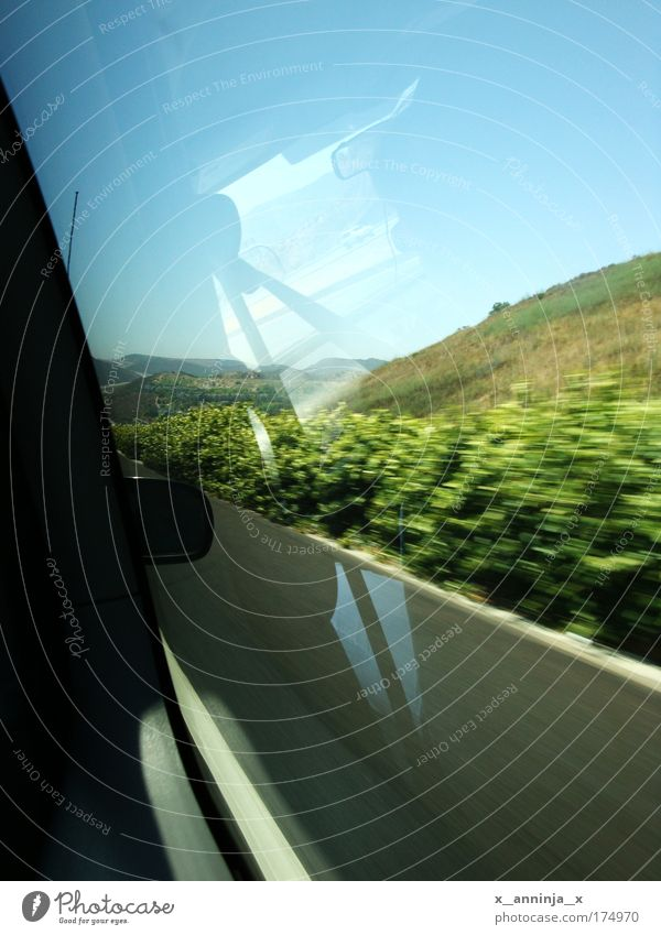Nature Street Car Landscape Driving Bushes Hill Beautiful weather Motoring