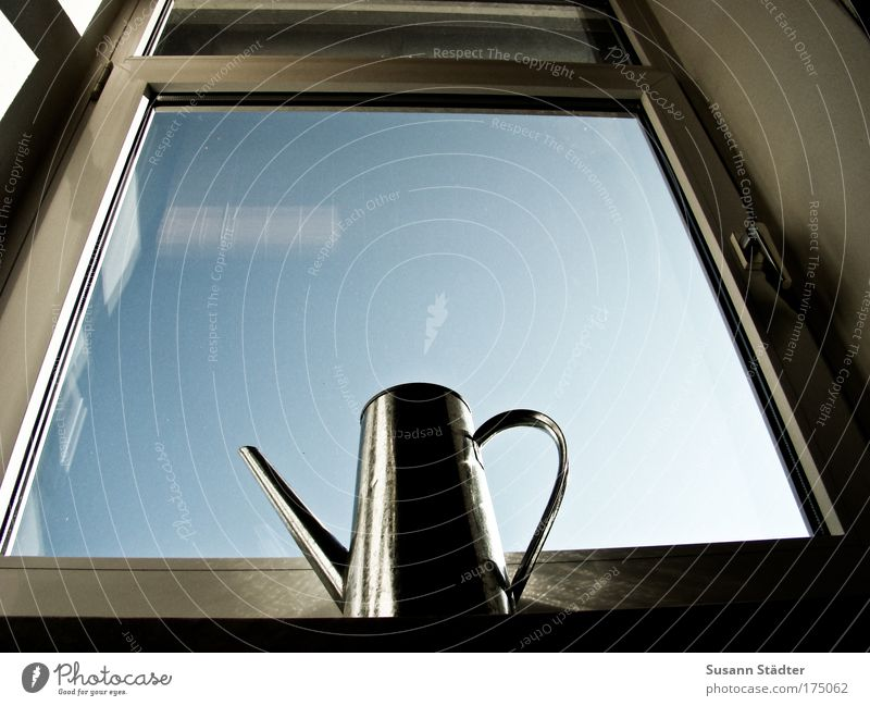 Water Death Window Sadness Heaven Metal Glass Mirror Steel Rust Concern Watering can Roller blind Secrecy