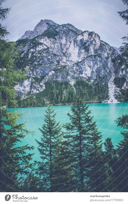 Braies Wild Lake Lifestyle Athletic Fitness Harmonious Well-being Contentment Relaxation Calm Leisure and hobbies Fishing (Angle) Vacation & Travel Tourism Trip