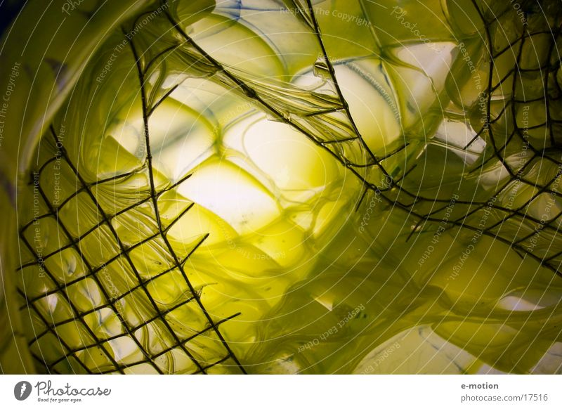 Yellow Earth Art Glass Crazy Net Universe Craft (trade) Radiation Deep Captured Freak Anonymous Interlaced Foreign Grating