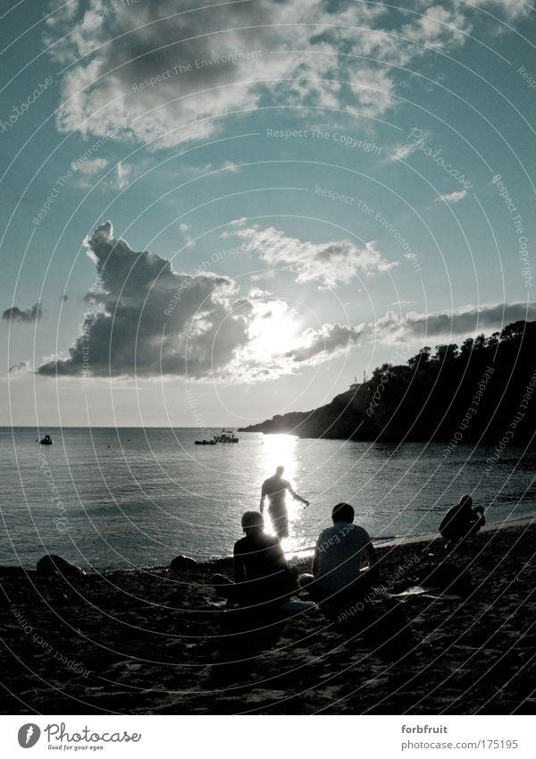 Human being Sky Nature Water Sun Summer Ocean Beach Clouds Elegant Masculine Trip Serene Dancer