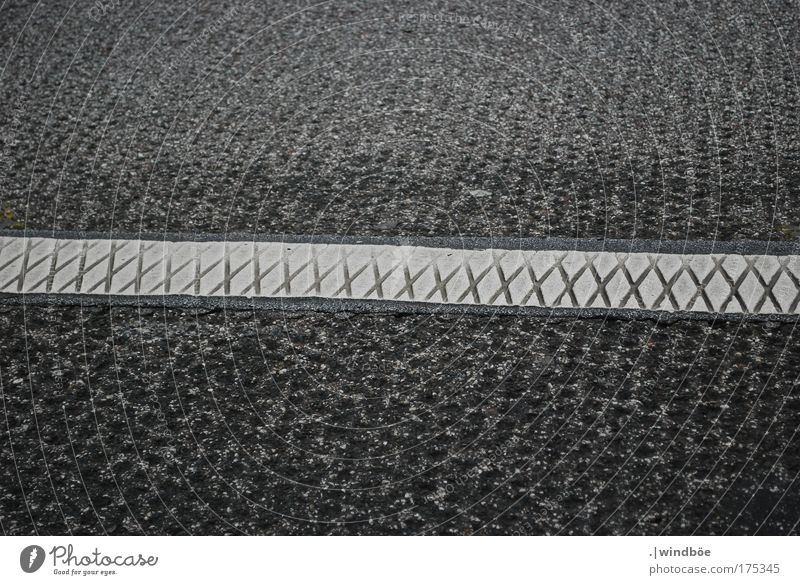 motorway pattern Colour photo Black & white photo Exterior shot Close-up Pattern Structures and shapes Deserted Day Bird's-eye view Downward Transport