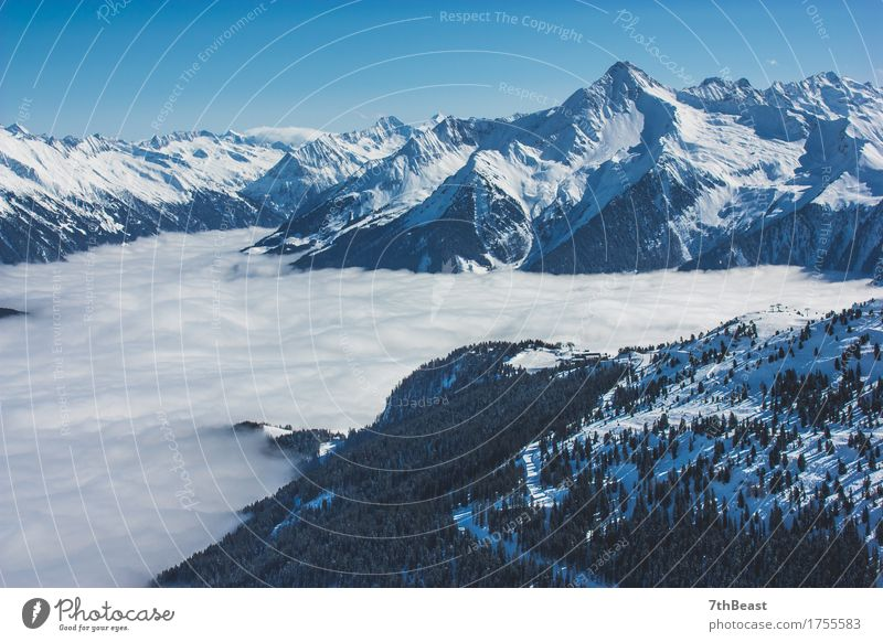 Glacier Alps Sky Nature Vacation & Travel Blue Green White Landscape Clouds Far-off places Winter Mountain Environment Snow Freedom Tourism Wild