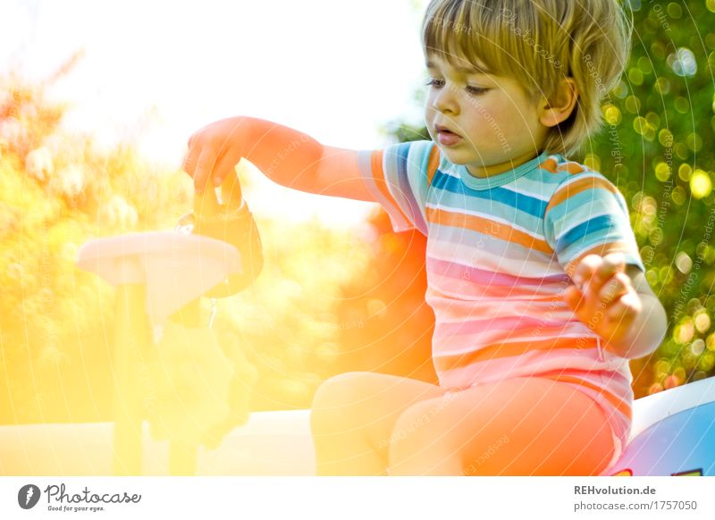 Child Human being Vacation & Travel Nature Summer Joy Natural Movement Boy (child) Small Garden Playing Freedom Contentment Leisure and hobbies Infancy
