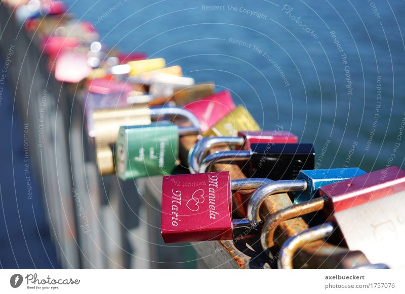 love palaces Valentine's Day Lock Love Eternity Tradition Bridge railing Matrimony Relationship Loyalty Padlock Display of affection Love padlock Heart