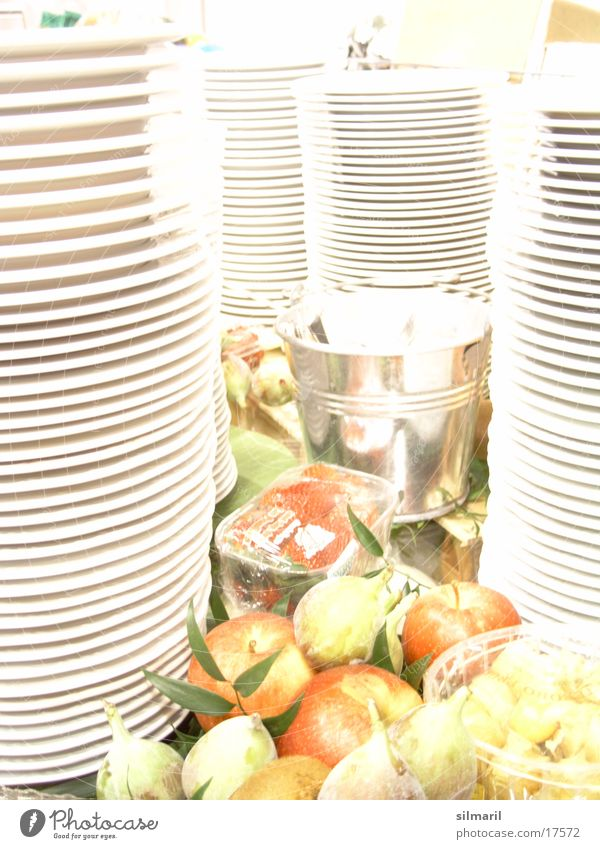 ...what's piling up? Crockery Guest White Healthy Fresh Vitamin plate stacks Tower Nutrition Blanket Fruit