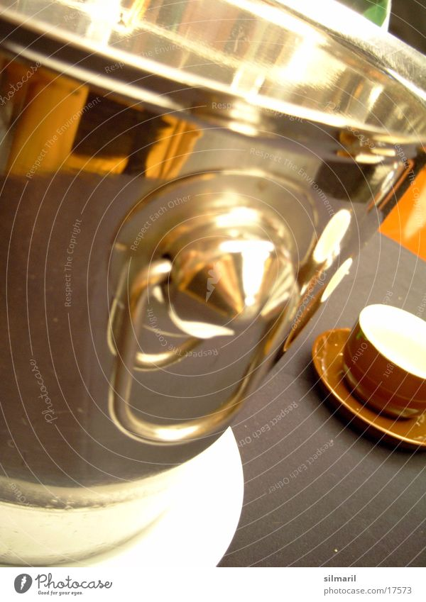 really glossy Glittering Reflection Espresso Cup Table Champagne Cooling Things champagne cooler Metal