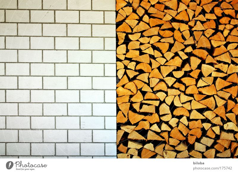 Summer Wall (building) Wood Architecture Wall (barrier) Stone Building Brown Background picture Facade Exceptional Energy Esthetic Good Manmade structures