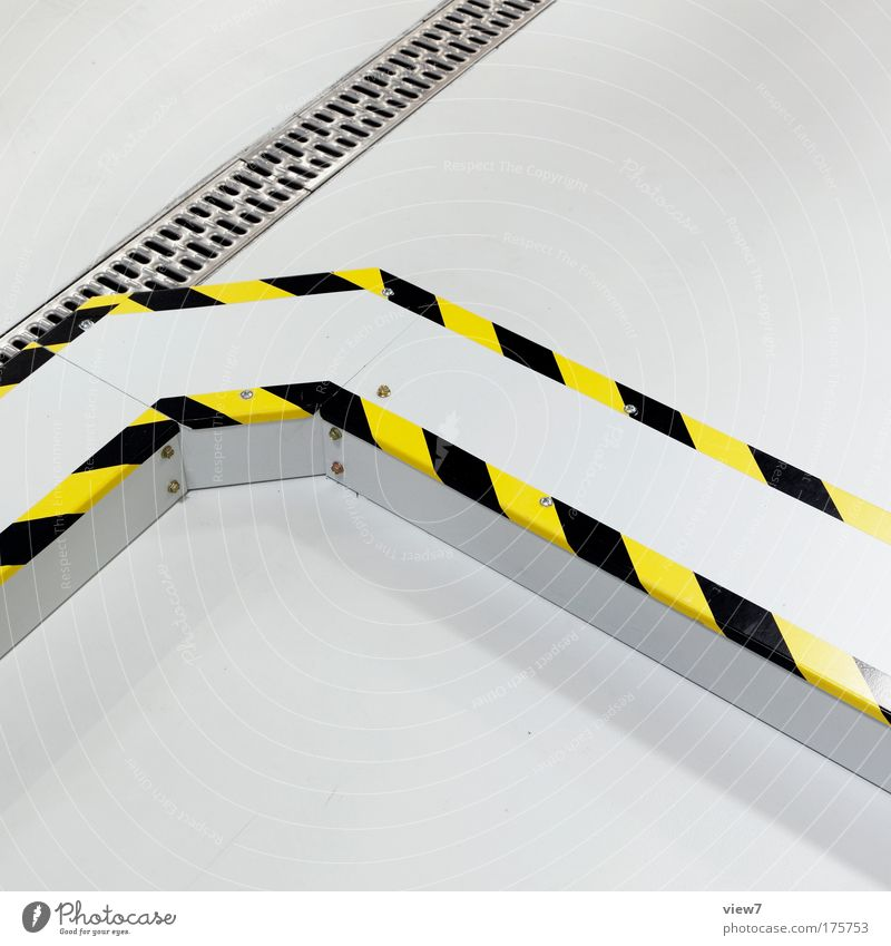 White Yellow Colour Bright Room Metal Flat (apartment) Signs and labeling Industry Safety Modern Arrangement New Logistics Decoration Good